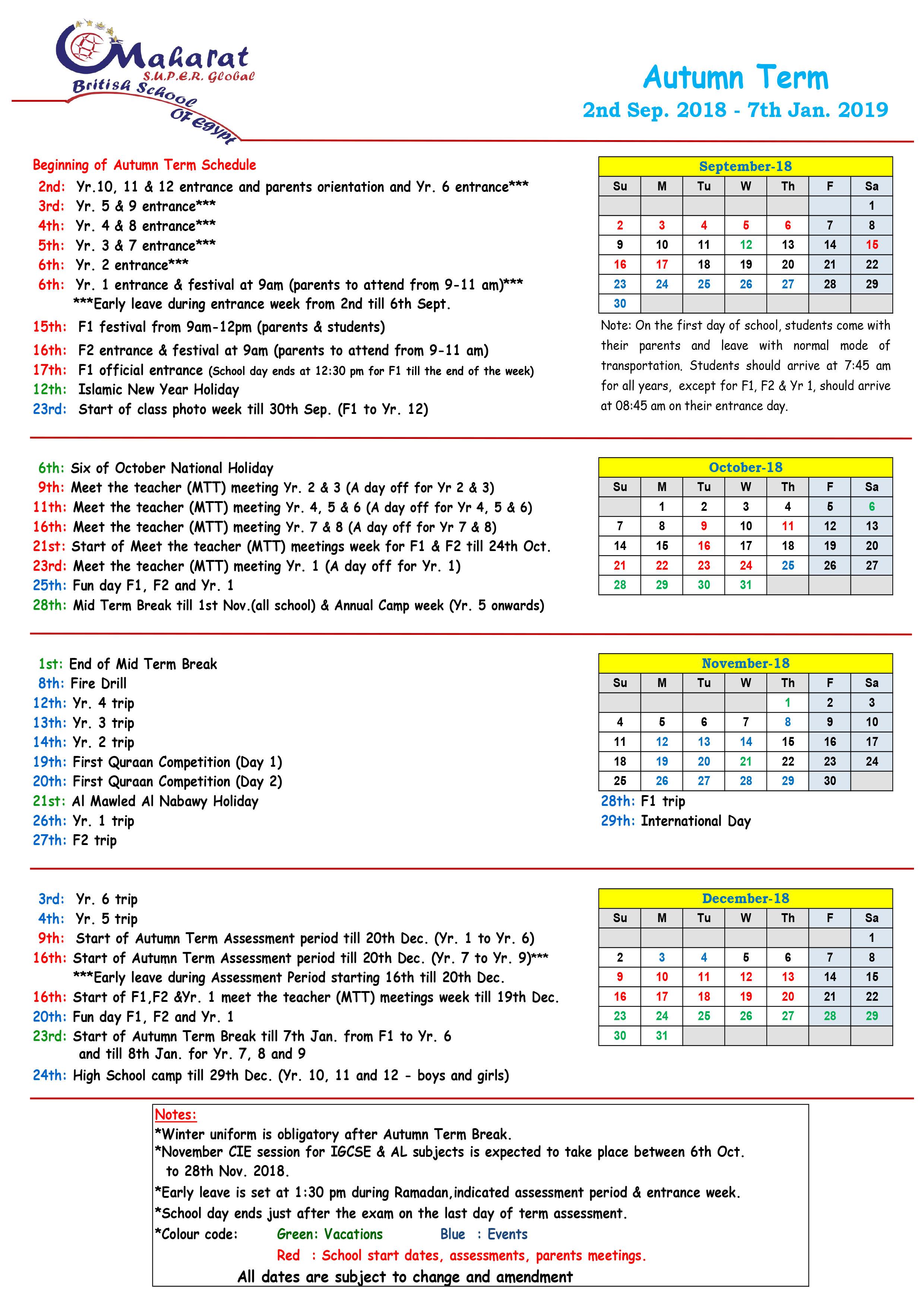 calendar-2018-2019-1st-term